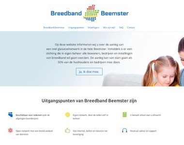 Breedband Beemster