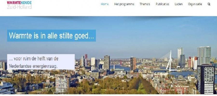 Nieuwe website voor Programmabureau Warmte Koude Zuid-Holland!