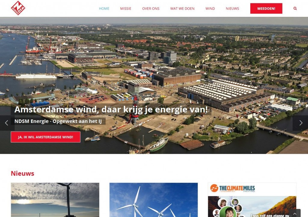 Website NDSM Energie