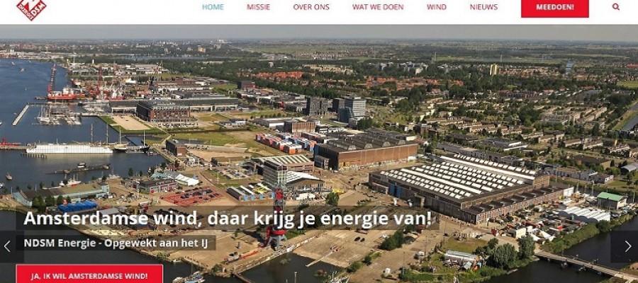 Nieuwe website voor NDSM Energie!